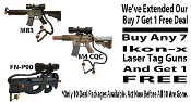 Special* - Buy 7 Laser Tag Rifles and Get 1 FREE!